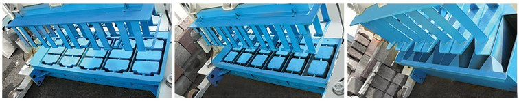 Hydraulic Movable Curb Stone Machine KAD1000