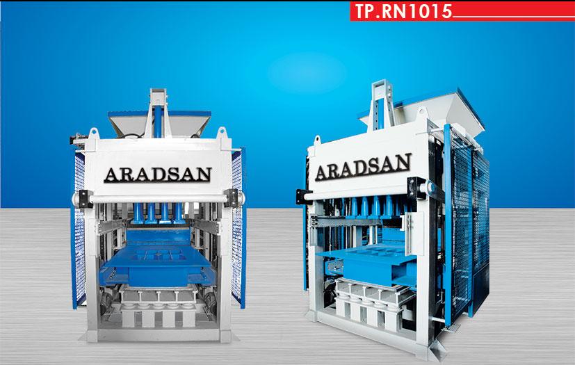 Automatic Concrete Blok Machine TP.RN1015 I