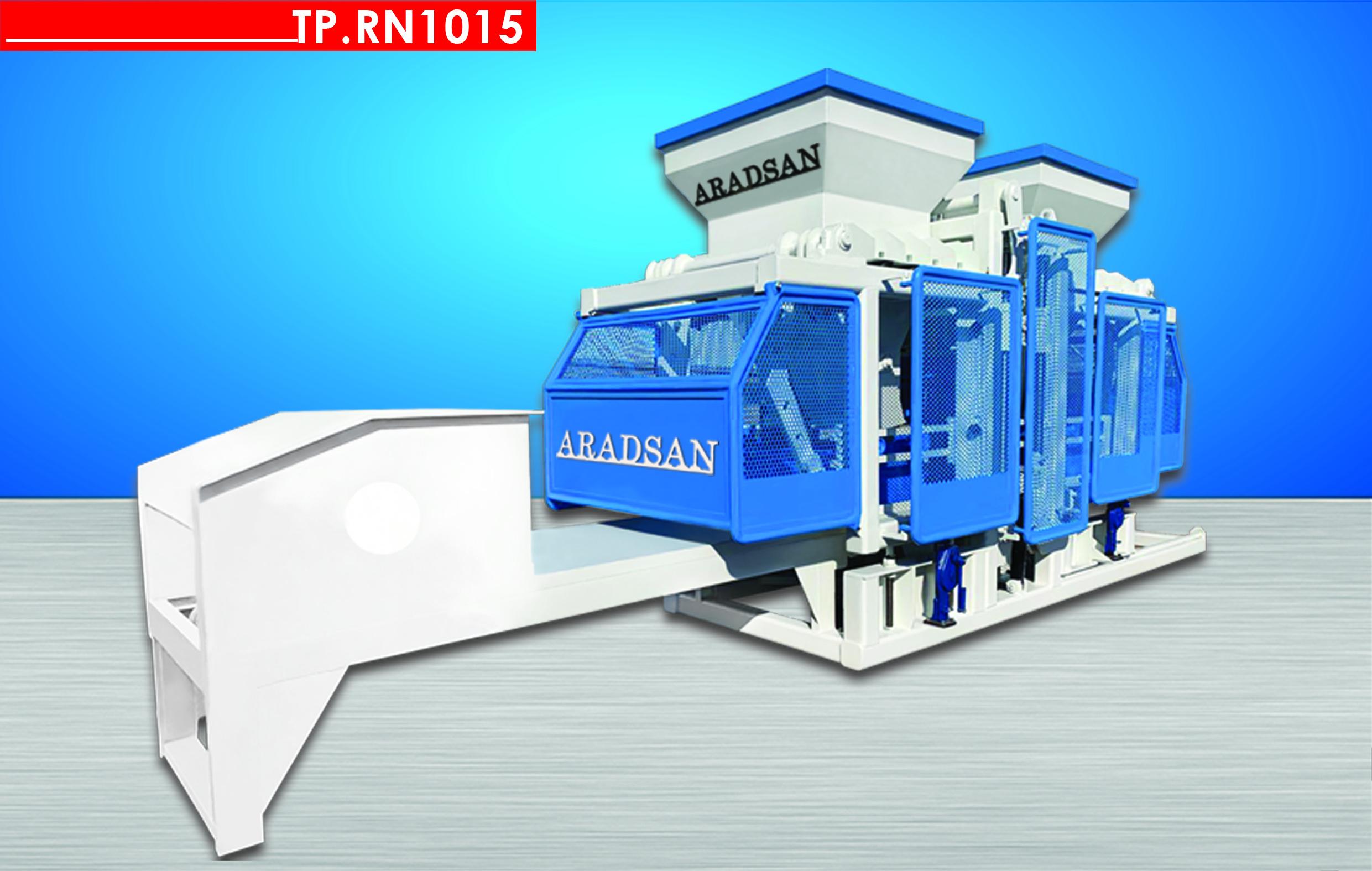 Автоматическая машина для производства бетонных блоков TP.RN1015