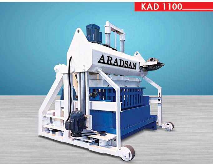 Wall Block Making Machine KAD1100