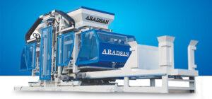 Aradsan Concrete block Machinery